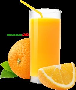 لیوان آب پرتقال