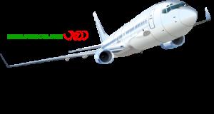 هواپیما در حال بلندشدن